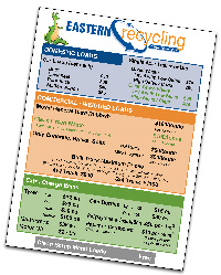 Eastern Recycling Transfer Station Prices